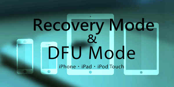What are DFU Mode and Recovery Mode
