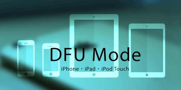 Situation for DFU Mode