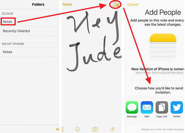 New Feature of Notes on iOS 10