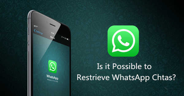 Possible to Restore WhatsApp