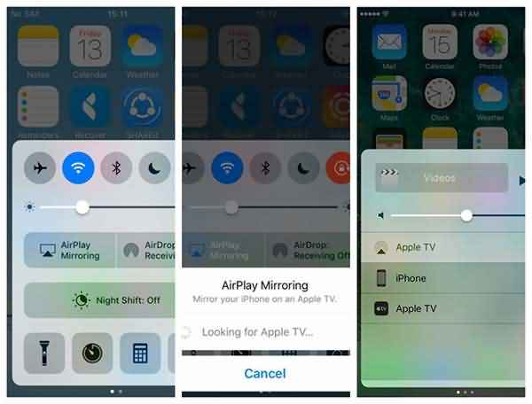 AirPlay Videos from iPhone to Apple TV